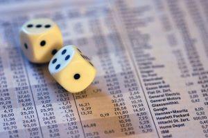 Dice on stock prices