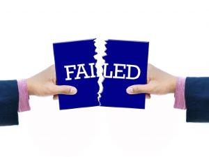 Failed and torn