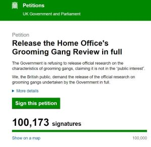 Home Office petition