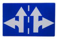 Road sign divergence