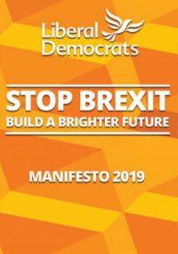 Lib Dem 2019 manifesto